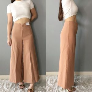 NWT TOPSHOP Wide Cropped Pants